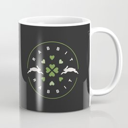 Rabbit Rabbit Love and Luck Coffee Mug