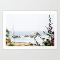 hiking Art Prints featuring Hiking by Catherine Coons Photography