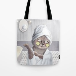 Roll My Eyes Tote Bag
