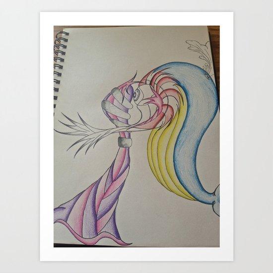 An Odd Love Art Print