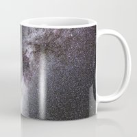 milky way Mugs featuring Milky Way by Space99