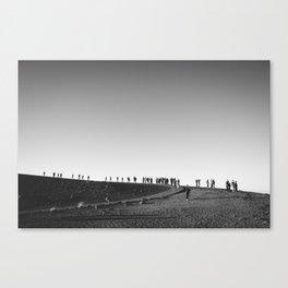 ON THE MOON  Canvas Print