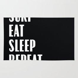 Surf Eat Sleep Repeat Rug