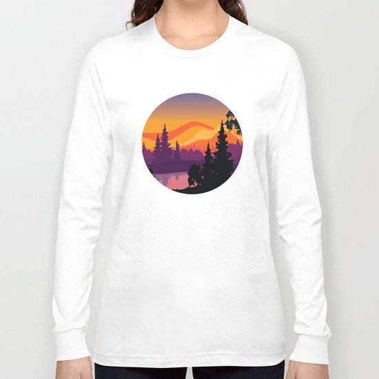 My Nature Collection No. 16 Long Sleeve T-shirt