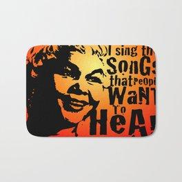 In Memory Of Etta James Bath Mat