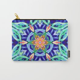 aztec floral mandala Carry-All Pouch