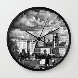 MADRID 04 Wall Clock
