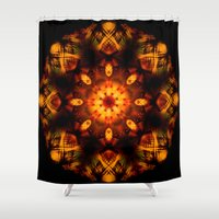 demon Shower Curtains featuring Demon by Shadow Chocobo
