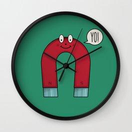 Yo Magnets Wall Clock