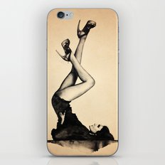 HEELS HIGH iPhone & iPod Skin