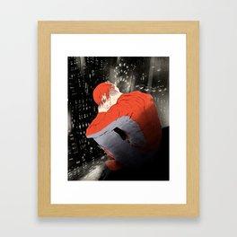 American Mythology (hero) Framed Art Print