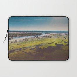 Yellowstone River Flood Plains Laptop Sleeve