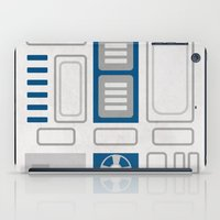 r2d2 iPad Cases featuring R2D2 by Alison Lee