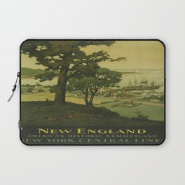 Vintage poster - New England Laptop Sleeve