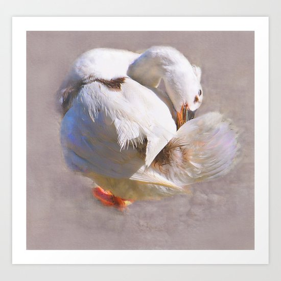 Good for the Goose Art Print