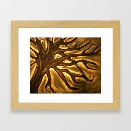Iconography Framed Art Print