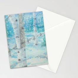 """""""Aspen Mingle"""" Stationery Cards"""