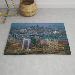 Evening view Rug