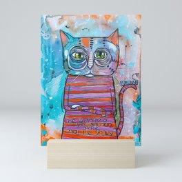 The Sass Cat Mini Art Print