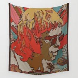 glamorous glasses man Wall Tapestry