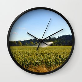 Marion County, OR  Wall Clock