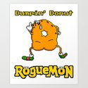 Dumpin' Donut by burgercircus