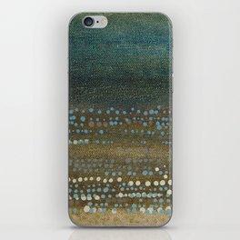 Landscape Dots - Night iPhone Skin