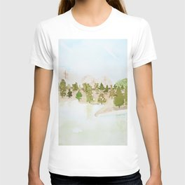 Pines and mountains T-shirt