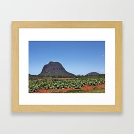 Mount Tibrogargan Framed Art Print