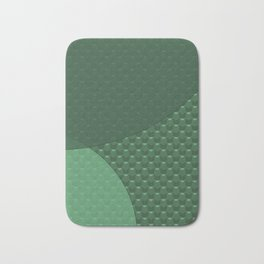 Green creative Bath Mat