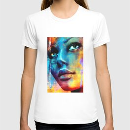 Dreaming in blue T-shirt