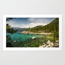 Sand Harbor, Lake Tahoe Art Print
