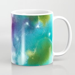 Abstract in Purple and Blue Coffee Mug