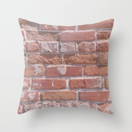Laid in the Way Throw Pillow