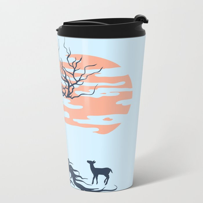 Family tree Metal Travel Mug