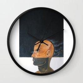 As vapor gutural Wall Clock