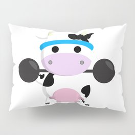 TeeTee - The Aerobic Cow #04 Pillow Sham