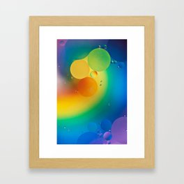 Rainbow Universe Framed Art Print