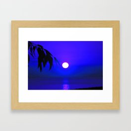Dawn in the South fifth Framed Art Print