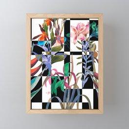 GEOMETRIC ABSTRACT PATTERN Framed Mini Art Print