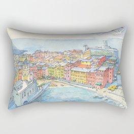 Vernazza, Cinque Terre, Italy Rectangular Pillow