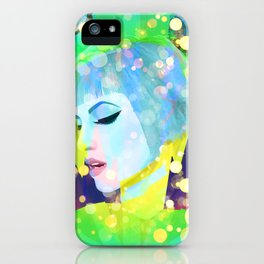 Digital Painting - Hayley Williams - Variation 2 iPhone Case