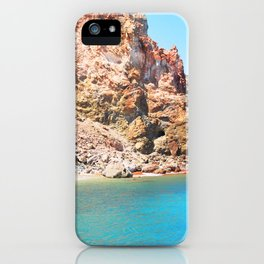244. Red and Blue, Greece iPhone Case