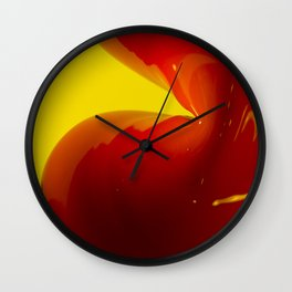 Curvy Wall Clock