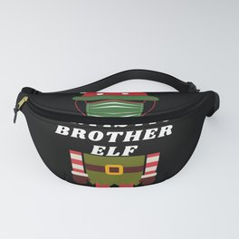 Funny Christmas Quarantine Gnome Gift For Artistic Fanny Pack