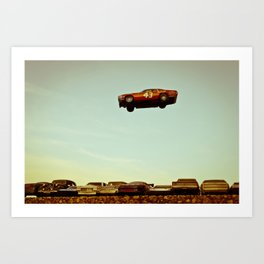 The Big Jump Art Print