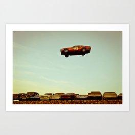 The Big Jump Art Print