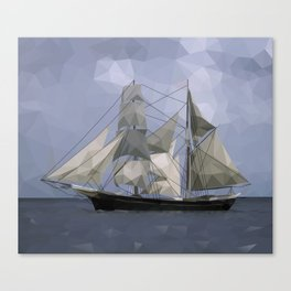 Sailing Ship Canvas Print