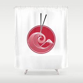 Japan Shower Curtain