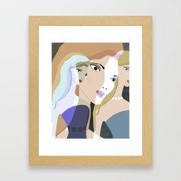 JEZEBEL-21 Framed Art Print